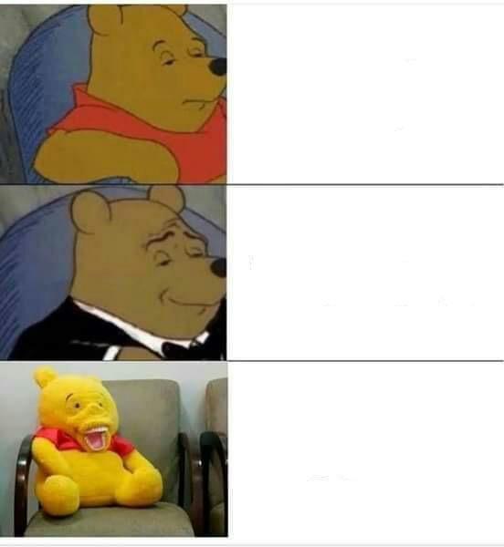 Meme Template Winnie The Pooh - Luisa Rowe