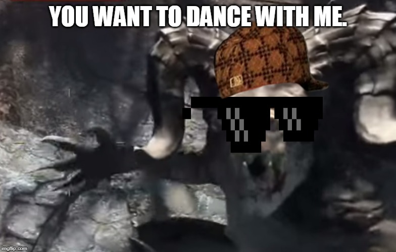YOU WANT TO DANCE WITH ME. DEATHCLAW | YOU WANT TO DANCE WITH ME. | image tagged in fallout 4 deathclaw,scumbag,sunglasses,ugly | made w/ Imgflip meme maker