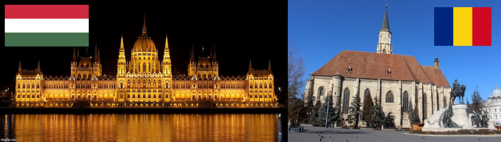 Budapest vs Cluj-Napoca - Which one is better | image tagged in memes,funny,romania,hungary | made w/ Imgflip meme maker