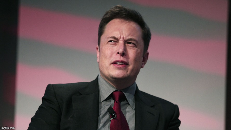 Confused Elon Musk | image tagged in confused elon musk | made w/ Imgflip meme maker
