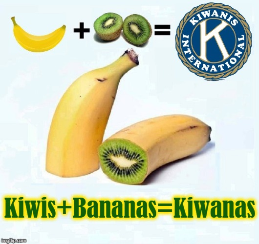 Here's the evidence: YOU DECIDE! | Kiwis+Bananas=Kiwanas | image tagged in vince vance,kiwi fruit,hybrid,gmo,bananas,kiwanis club | made w/ Imgflip meme maker