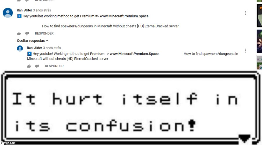 spam bot | image tagged in bot,memes,funny,scam,minecraft,cool | made w/ Imgflip meme maker