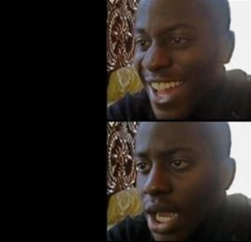 Black Guy Happy Sad Meme Generator Imgflip Myinstants is where you discover and create instant sound effect buttons. black guy happy sad meme generator