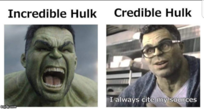image tagged in memes,incredible hulk,credible hulk | made w/ Imgflip meme maker