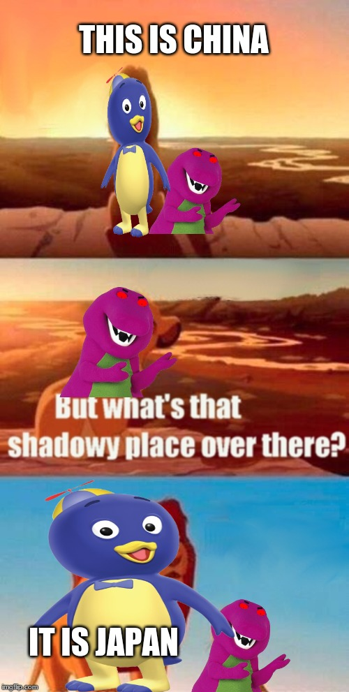 Simba Shadowy Place Meme | THIS IS CHINA IT IS JAPAN | image tagged in memes,simba shadowy place | made w/ Imgflip meme maker