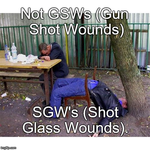 "The dispatcher said ""Two males shot."" I guess the party ended before the Paramedics showed up. 