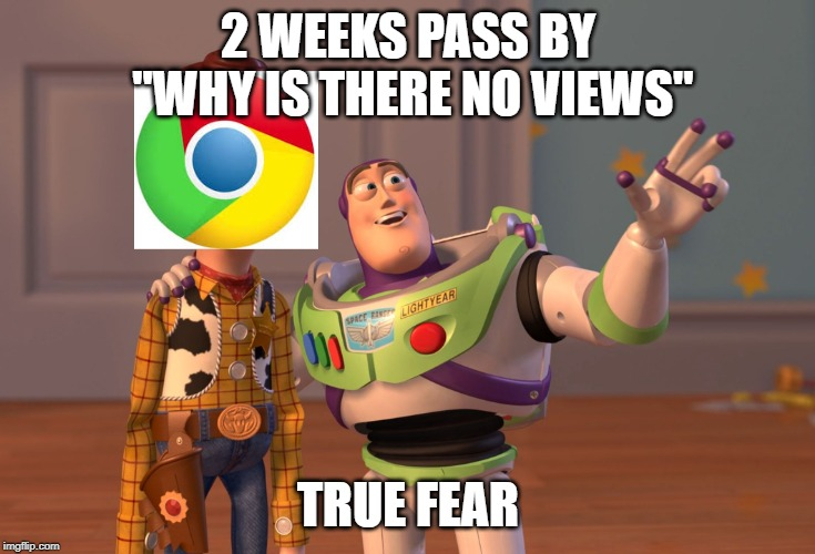 "2 WEEKS PASS BY ""WHY IS THERE NO VIEWS"" TRUE FEAR 
