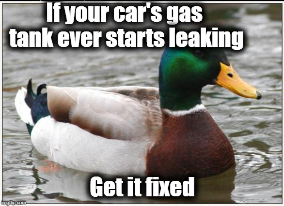 "Today's ""DUH"" moment 