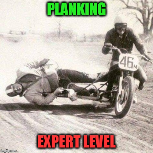 PLANKING EXPERT LEVEL | image tagged in planking | made w/ Imgflip meme maker