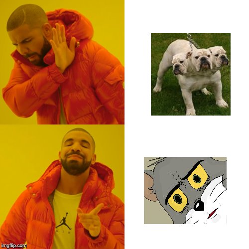 Idk im out of ideas for a meme | image tagged in drake hotline bling,unsettled tom,now that's something i haven't seen in a long time,idk | made w/ Imgflip meme maker