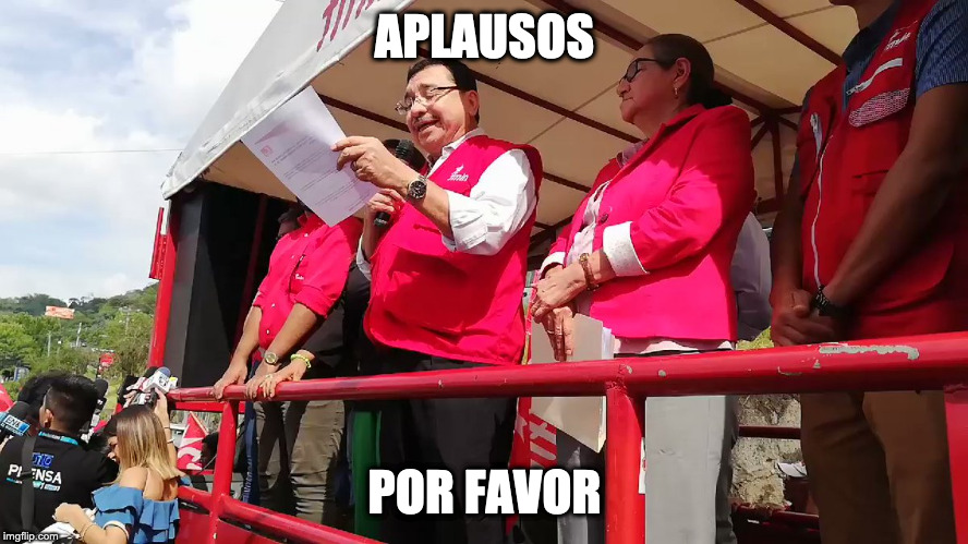 APLAUSOS POR FAVOR | made w/ Imgflip meme maker