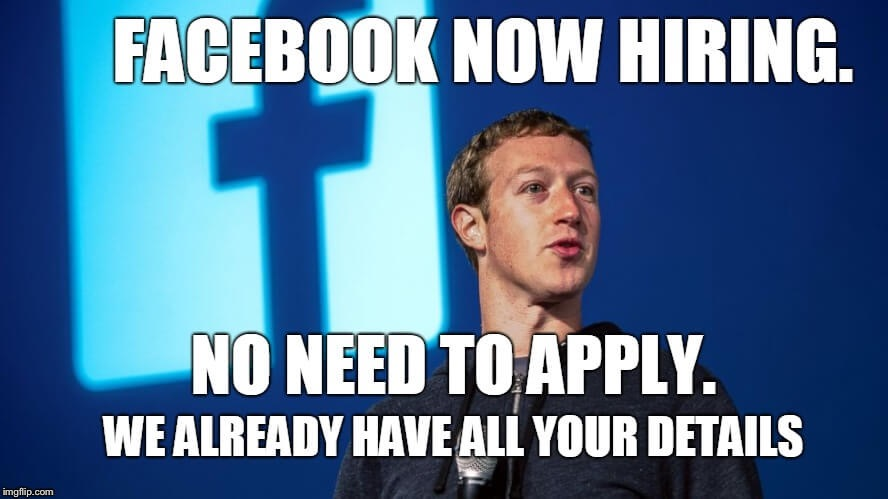 Help needed at Facebook! | image tagged in facebook,apply,job,job interview,stalker,stalking | made w/ Imgflip meme maker