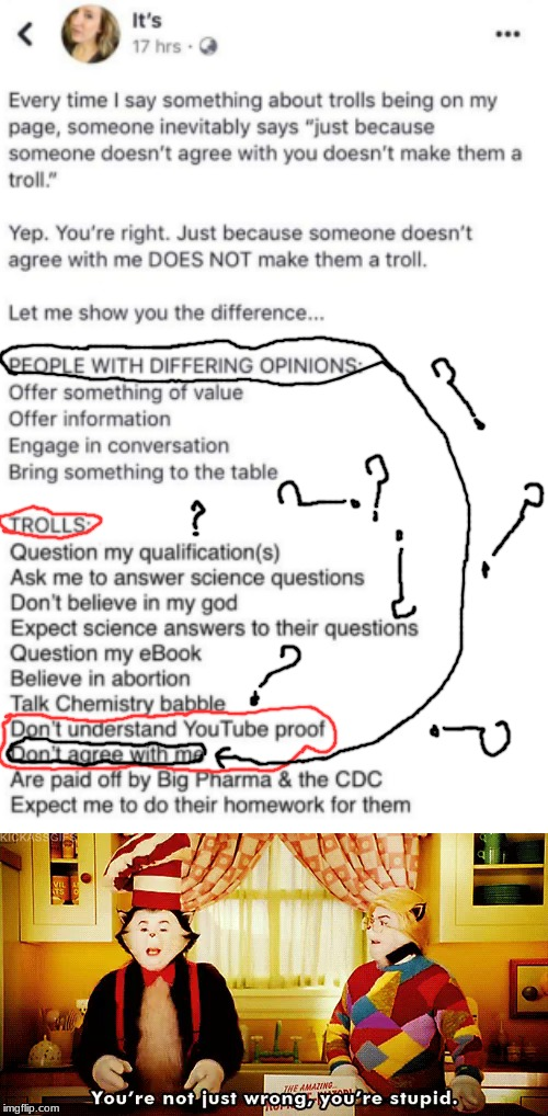 HOW CAN PEOPLE BE THIS STUPID | image tagged in memes,funny,anti-vaxx,pro-vaxx,why,just why | made w/ Imgflip meme maker