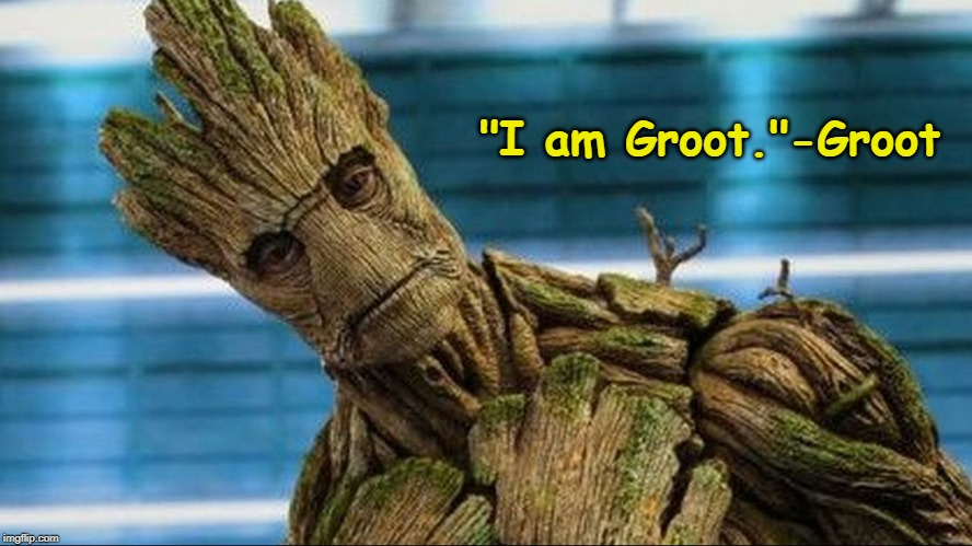 "One of my favorite quotes. :) | ""I am Groot.""-Groot 