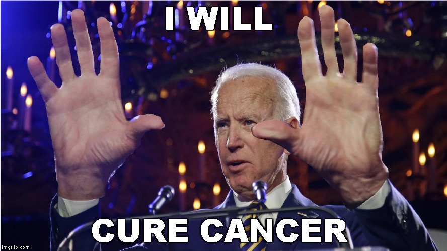 Phoney Joe | I WILL CURE CANCER | image tagged in memes,joe biden,snake oil salesman | made w/ Imgflip meme maker