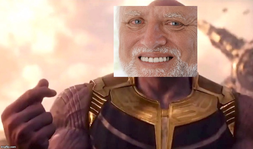 thanos snap | image tagged in thanos snap | made w/ Imgflip meme maker