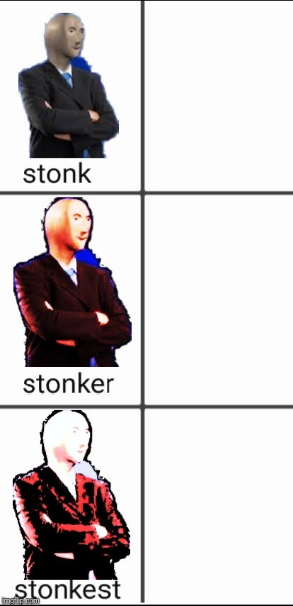 Stonk by level | image tagged in stonk by level | made w/ Imgflip meme maker