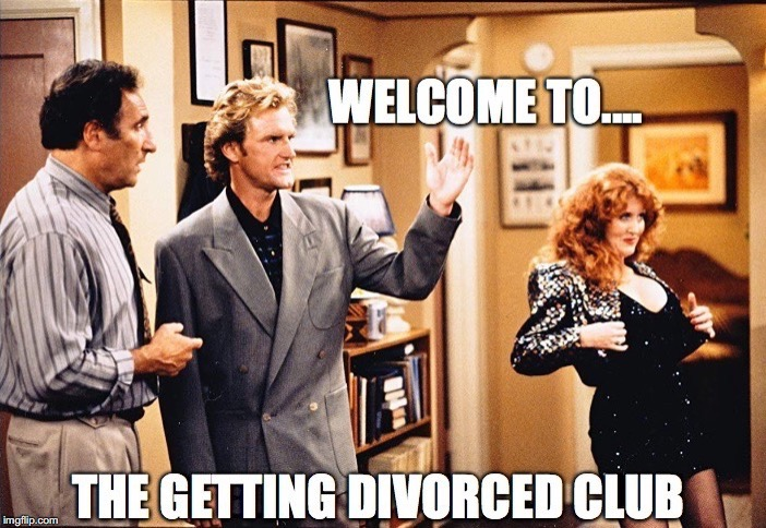 Ode to Joy | image tagged in dear john,divorced,club,welcome | made w/ Imgflip meme maker