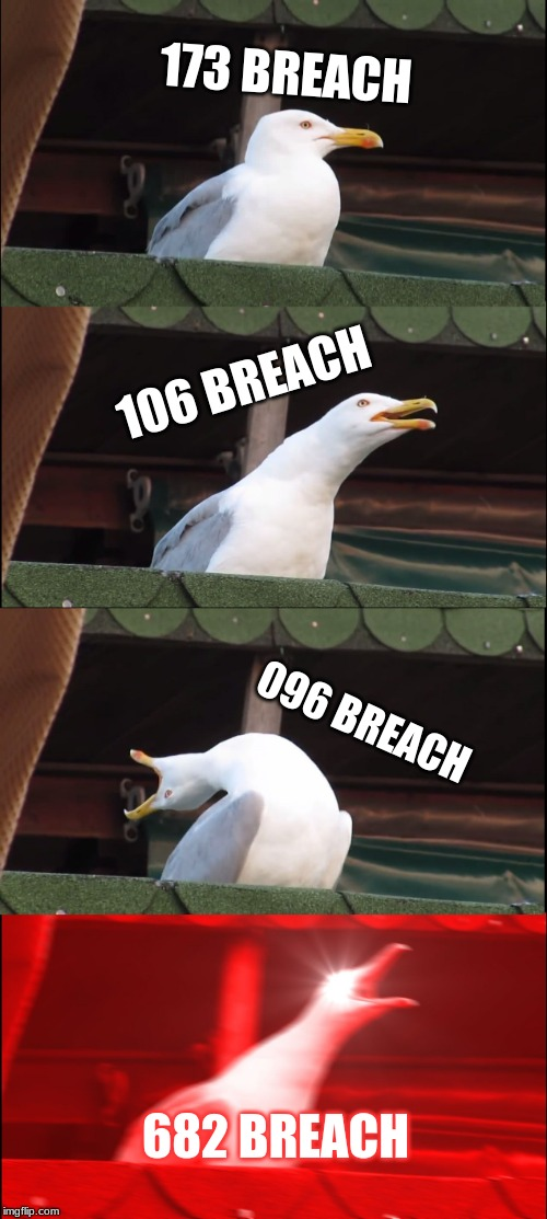 Scp Breach Levels Imgflip