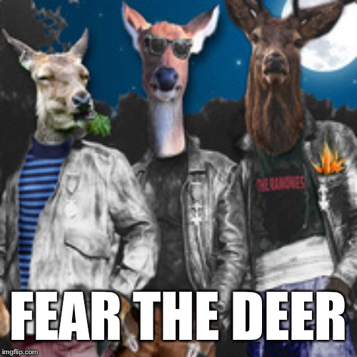 FEAR THE DEER | made w/ Imgflip meme maker