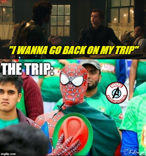 """I WANNA GO BACK ON MY TRIP"" THE TRIP: 
