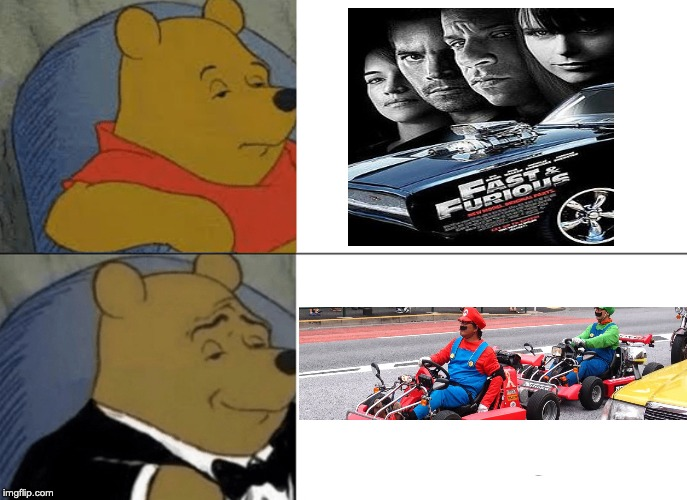 the fast and the Mariokart | image tagged in fast and furious,mario,mario kart | made w/ Imgflip meme maker