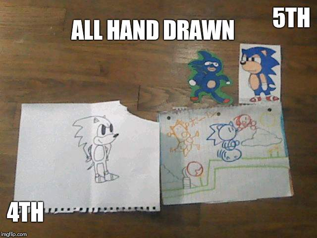 5TH 4TH ALL HAND DRAWN | made w/ Imgflip meme maker