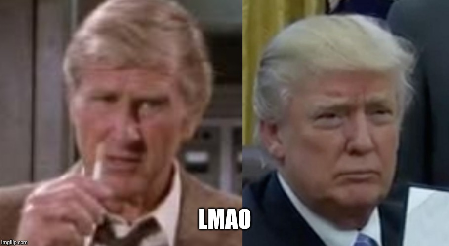 "Trump was in ""airplane!"" confirmed 