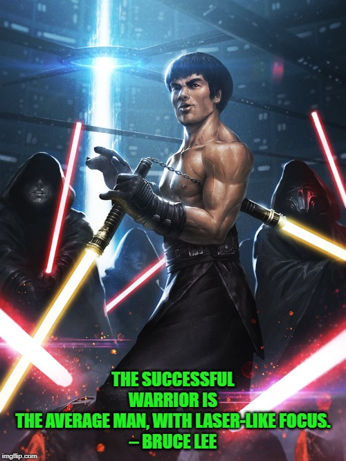 """Bruce Lee Jedi"" by Ameeeeba... DeviantArt Week 2...6-24 to 6-29. A Raydog and TigerLegend1046 event 