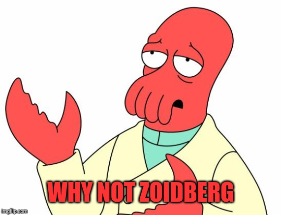 Futurama Zoidberg Meme | WHY NOT ZOIDBERG | image tagged in memes,futurama zoidberg | made w/ Imgflip meme maker