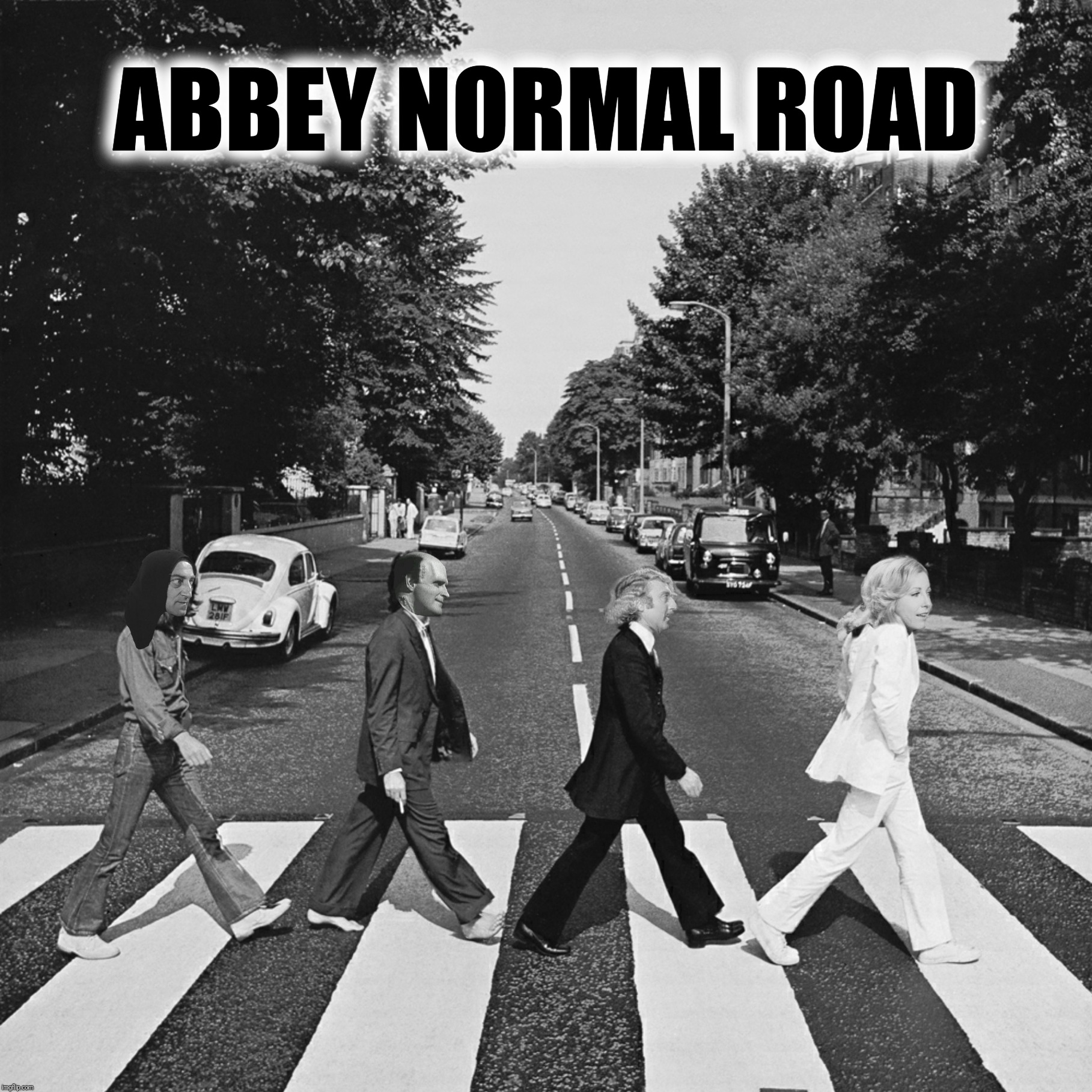 "Bad Photoshop Sunday presents:  If three people get this I will be ""shocked"" 