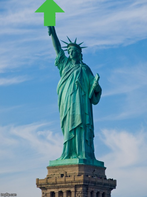 statue of liberty | image tagged in statue of liberty | made w/ Imgflip meme maker