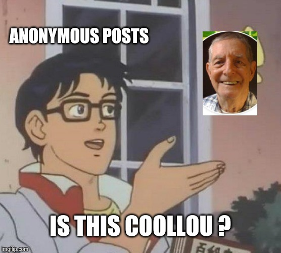 "Why does ""Anonymous"" get so many posts ? 