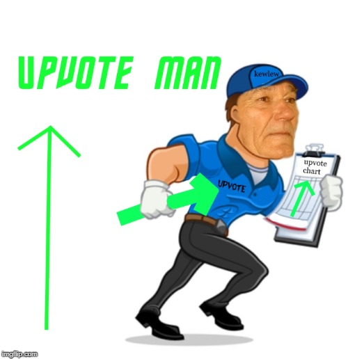 upvote man | image tagged in upvote man | made w/ Imgflip meme maker