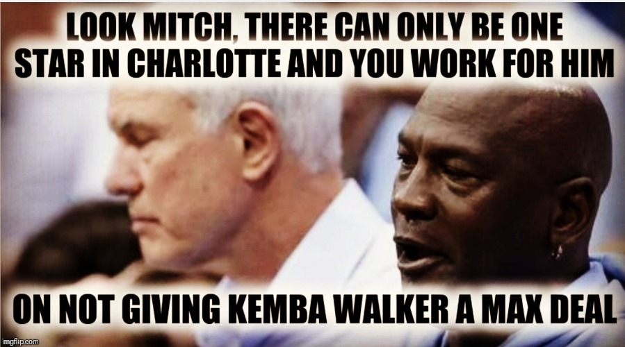 Star Power | image tagged in michael jordan,nba memes,kemba walker,charlotte | made w/ Imgflip meme maker