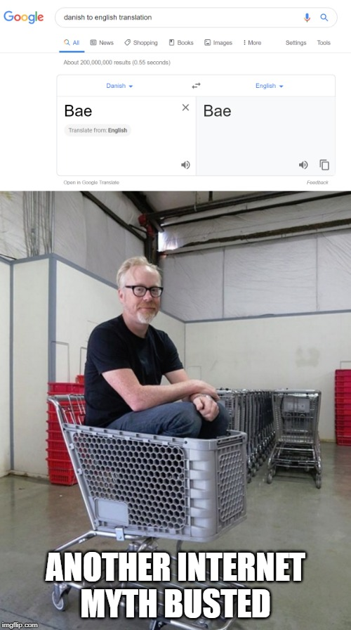 ANOTHER INTERNET MYTH BUSTED | image tagged in mythbusters | made w/ Imgflip meme maker
