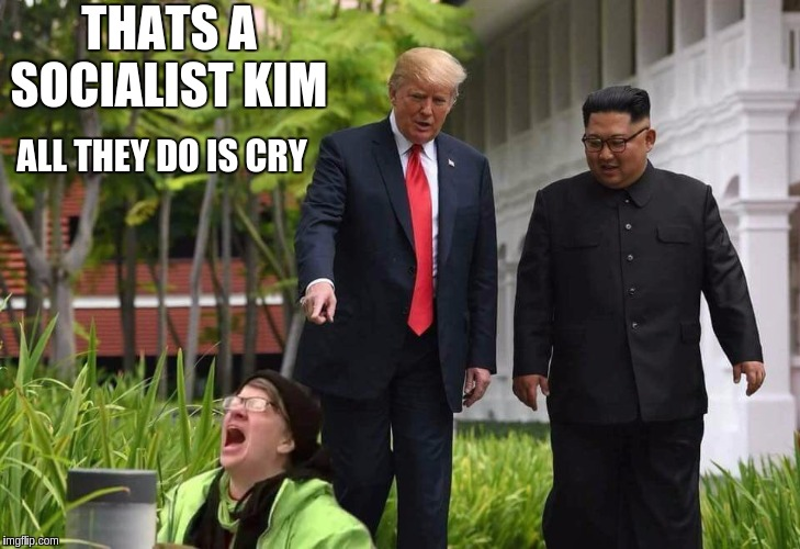 #SOCIALISM | THATS A SOCIALIST KIM ALL THEY DO IS CRY | image tagged in labourisdead,labour,labour party,communist socialist,socialism,cultural marxism | made w/ Imgflip meme maker