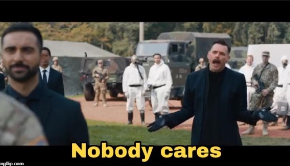 Nobody cares! Blank Template - Imgflip