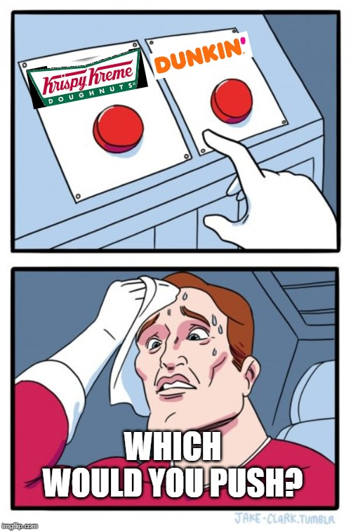 Two Buttons | WHICH WOULD YOU PUSH? | image tagged in memes,two buttons | made w/ Imgflip meme maker