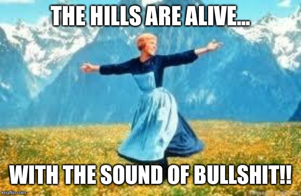 Look At All These | THE HILLS ARE ALIVE... WITH THE SOUND OF BULLSHIT!! | image tagged in memes,look at all these | made w/ Imgflip meme maker