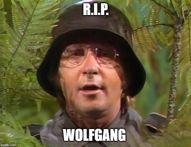 Arte Johnson 1929-2019 | R.I.P. WOLFGANG | image tagged in arte johnson,r i p | made w/ Imgflip meme maker