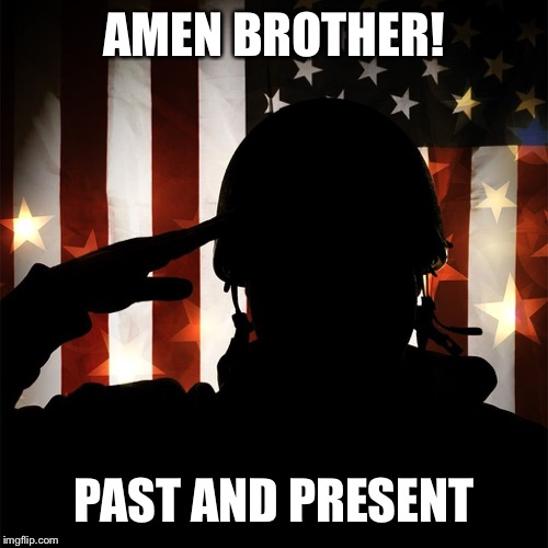 AMEN BROTHER! PAST AND PRESENT | made w/ Imgflip meme maker