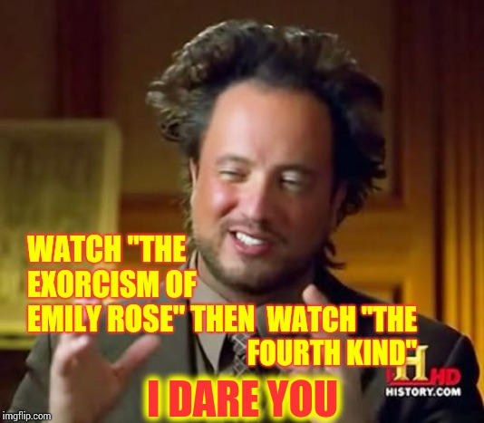 "Coincidence or Artsy Fartsy | WATCH ""THE EXORCISM OF EMILY ROSE"" THEN WATCH ""THE FOURTH KIND"" I DARE YOU 