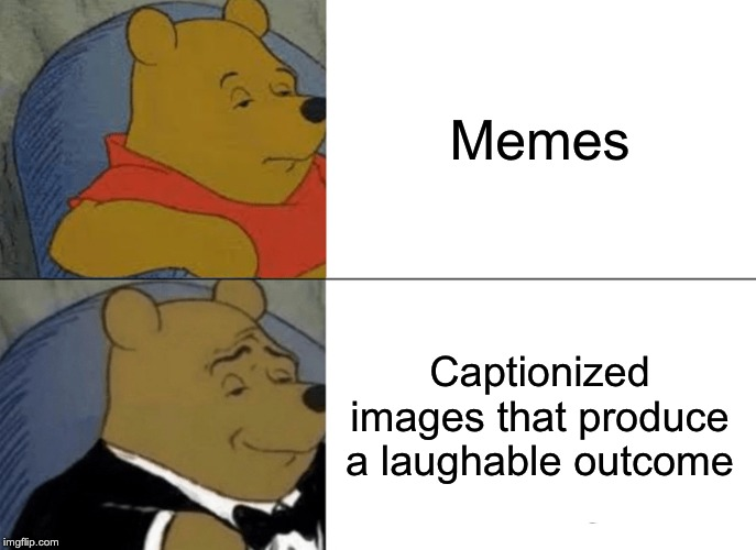 Tuxedo Winnie The Pooh | Memes Captionized images that produce a laughable outcome | image tagged in memes,tuxedo winnie the pooh | made w/ Imgflip meme maker