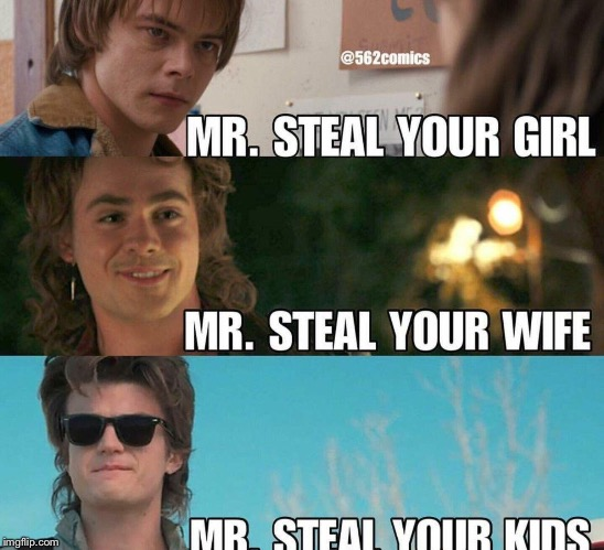 Stranger Things Teenager Types | image tagged in stranger things,fun,tv show | made w/ Imgflip meme maker