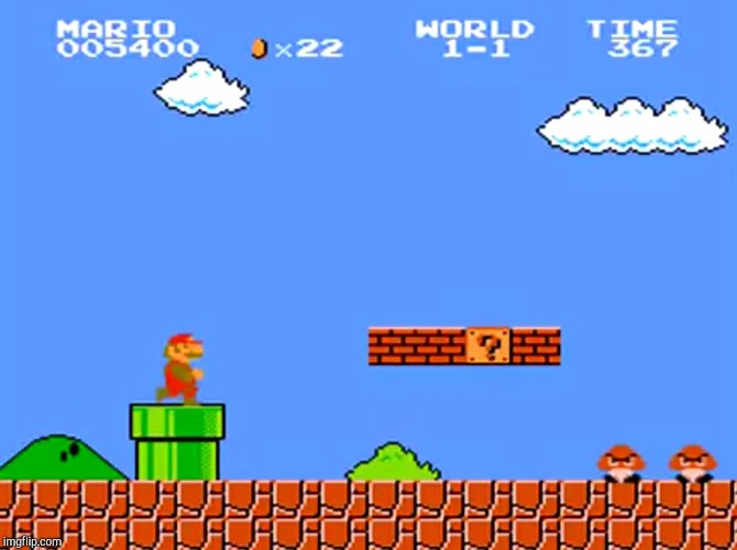 image tagged in super mario bros classic | made w/ Imgflip meme maker