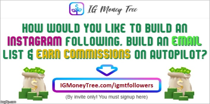 IG Money Tree | image tagged in socialmedia,makemoneyonline,igmoneytree | made w/ Imgflip meme maker