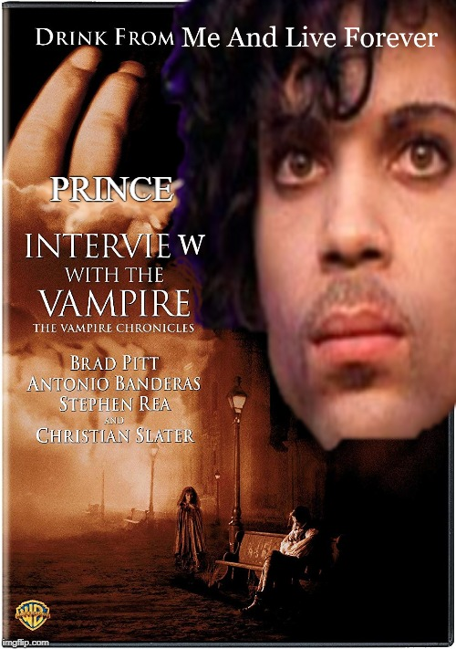 PRINCE | image tagged in the little mermaid,prince,interview with the vampire | made w/ Imgflip meme maker