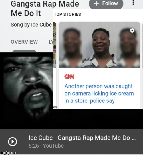 mothaphukkrrr doin ta da ice cream | image tagged in gangsta | made w/ Imgflip meme maker