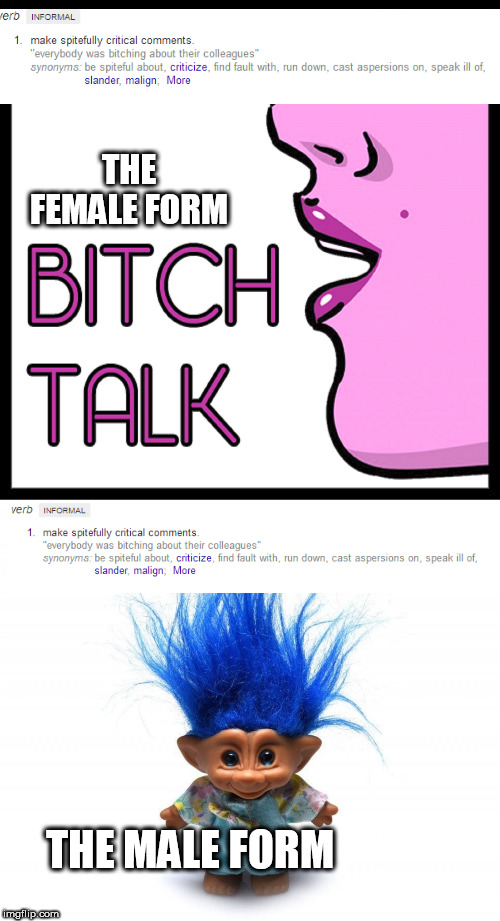 troll | THE FEMALE FORM THE MALE FORM | image tagged in troll | made w/ Imgflip meme maker